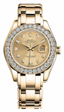 Rolex - Datejust Pearlmaster Lady Yellow Gold - Watch Brands Direct  - 8