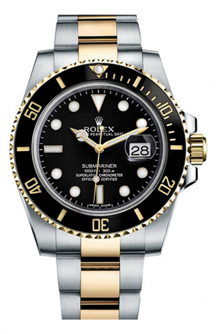 Rolex - Submariner Steel and Gold (116613) - Watch Brands Direct  - 1