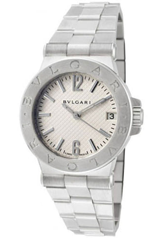 Bulgari,Bulgari - Diagono Automatic 29mm - Stainless Steel - Watch Brands Direct