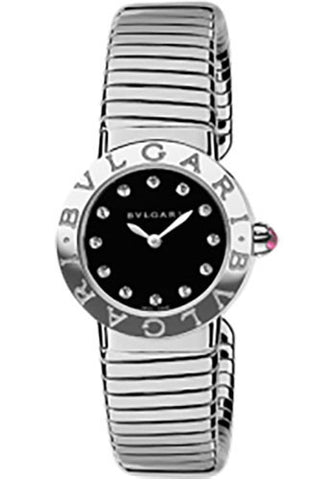 Bulgari,Bulgari - BVLGARI 26mm - Stainless Steel - Tobogas Bracelet - Watch Brands Direct