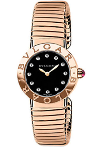 Bulgari - BVLGARI - 26mm Medium - Pink Gold - Watch Brands Direct