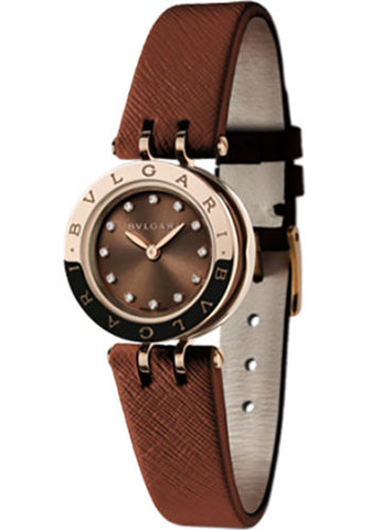 Bulgari,Bulgari - B.zero1 Quartz 23mm - Pink Gold - Watch Brands Direct