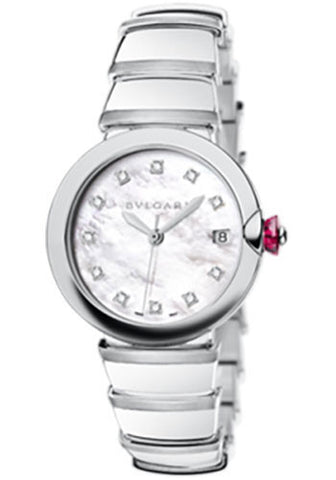 Bulgari - Lucea 36mm - Stainless Steel - Watch Brands Direct