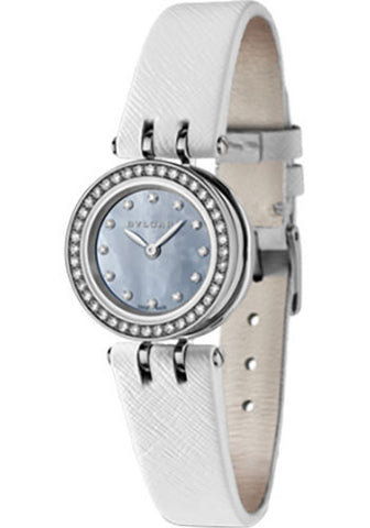 Bulgari,Bulgari - B.zero1 Quartz 23mm - Stainless Steel and Diamonds - Watch Brands Direct