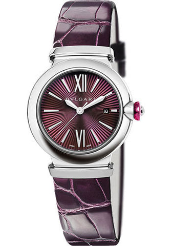 Bulgari,Bulgari - Lucea 33mm - Stainless Steel - Watch Brands Direct