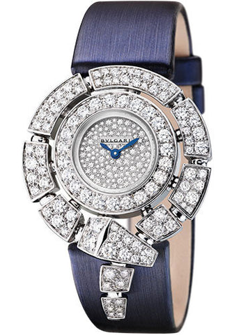 Bulgari - Serpenti - White Gold and Diamonds - Watch Brands Direct