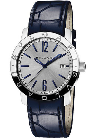Bulgari,Bulgari - BVLGARI Solotempo 39mm - Stainless Steel - Watch Brands Direct