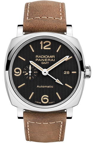 Panerai - RADIOMIR 1940 3 DAYS GMT AUTOMATIC ACCIAIO – 45mm - Watch Brands Direct