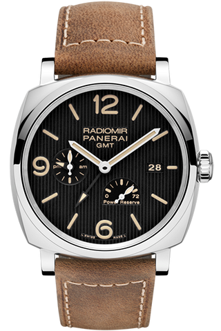 Panerai - Radiomir 1940 3 Days GMT Power Reserve Automatic Acciaio – 45mm - Watch Brands Direct