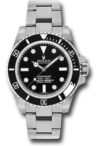 Rolex - Submariner Steel - NO Date