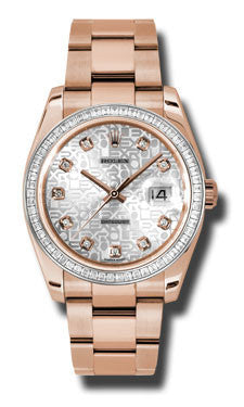 Rolex,Rolex - Datejust 36mm - Gold Everose Gold - Watch Brands Direct