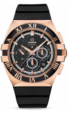 Omega,Omega - Constellation Double Eagle Co-Axial Chrono Numbered Edition Red Gold - Watch Brands Direct