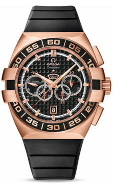 Omega,Omega - Constellation Double Eagle Co-Axial Chrono Red Gold - Watch Brands Direct
