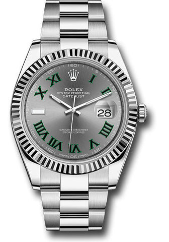 Rolex - Datejust II 41mm - Stainless Steel - Fluted Bezel - Oyster Bracelet