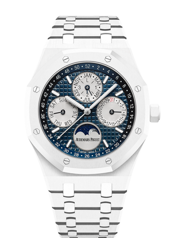 Audemars Piguet - Royal Oak Perpetual Calendar White Ceramic