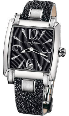 Ulysse Nardin,Ulysse Nardin - Caprice - Stainless Steel - Leather Strap - Watch Brands Direct