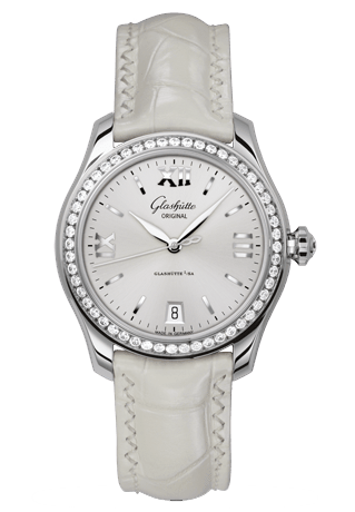 Glashutte - Lady Serenade - Stainless Steel and Diamonds - Watch Brands Direct
