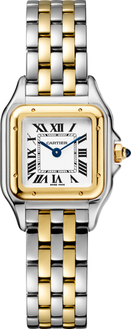 Cartier,Cartier - Panthère de Cartier - Stainless Steel and Yellow Gold - Watch Brands Direct