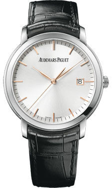 Audemars Piguet,Audemars Piguet - Jules Audemars Automatic - White Gold - Watch Brands Direct