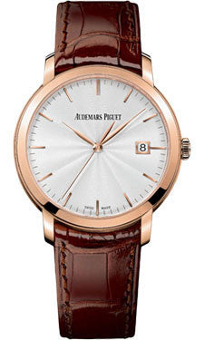 Audemars Piguet - Jules Audemars Automatic- Pink Gold - Watch Brands Direct  - 1