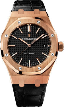 Audemars Piguet,Audemars Piguet - Royal Oak Self Winding 37mm - Rose Gold - Watch Brands Direct