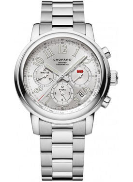 Chopard,Chopard - Mille Miglia - Chronograph - Stainless Steel - Bracelet - Watch Brands Direct