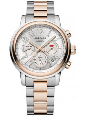 Chopard,Chopard - Mille Miglia - Chronograph - Stainless Steel and Rose Gold - Watch Brands Direct