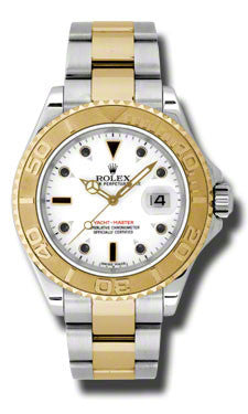 Rolex,Rolex - Yacht-Master Mens Two Tone - Watch Brands Direct