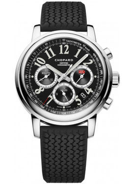 Chopard,Chopard - Mille Miglia - Chronograph - Stainless Steel - Rubber Strap - Watch Brands Direct
