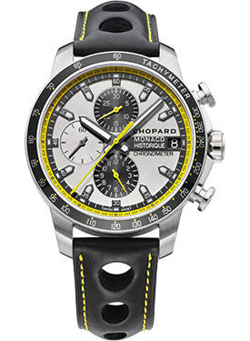 Chopard,Chopard - Grand Prix de Monaco Historique Chronograph - Titanium and Stainless Steel - Limited Edition - Watch Brands Direct