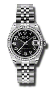 Rolex,Rolex - Datejust 31mm - Steel Diamond Bezel - Watch Brands Direct