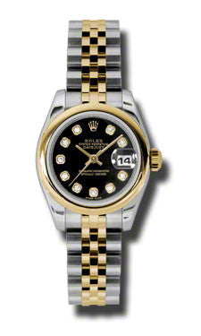 Rolex - Datejust Lady 26 - Steel and Yellow Gold - Domed Bezel - Watch Brands Direct  - 1