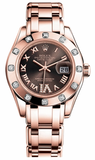 Rolex - Datejust Pearlmaster Lady Everose Gold - 12 Diamond Bezel - Watch Brands Direct  - 2