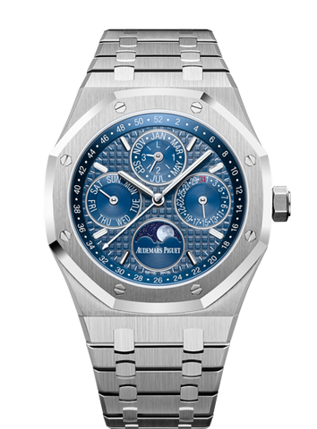Audemars Piguet - Royal Oak Perpetual Calendar White Ceramic Stainless Steel