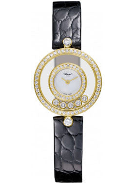 Chopard,Chopard - Happy Diamonds - Small - Leather Strap - Watch Brands Direct