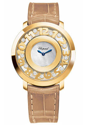 Chopard - Happy Diamonds - Yellow gold and Diamonds - Watch Brands Direct