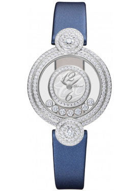 Chopard,Chopard - Happy Diamonds - Medium - Diamond Case - Watch Brands Direct