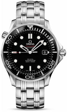 Omega,Omega - Seamaster Diver 300 M Co-Axial 41 mm - Stainless Steel - Watch Brands Direct