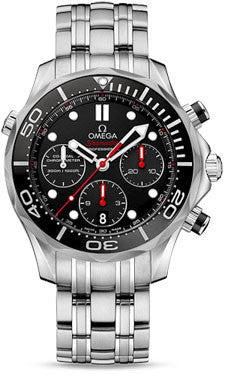 Omega,Omega - Seamaster Diver 300 M Co-Axial Chronograph 41.5 mm - Watch Brands Direct