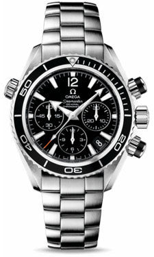 Omega,Omega - Seamaster Planet Ocean 600 M Co-Axial Chronograph 37.5 mm - Stainless Steel - Watch Brands Direct