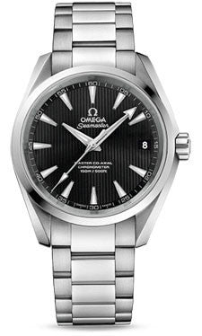 Omega,Omega - Seamaster Aqua Terra 150 M Master Co-Axial 38.5 mm - Stainless Steel - Watch Brands Direct