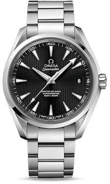 Omega,Omega - Seamaster Aqua Terra 150 M Master Co-Axial 41.5 mm - Stainless Steel - Watch Brands Direct