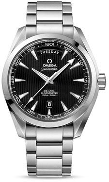 Omega,Omega - Seamaster Aqua Terra 150 M Co-Axial Day-Date 41.5 mm - Stainless Steel - Watch Brands Direct