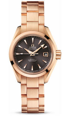 Omega,Omega - Seamaster Aqua Terra 150 M Co-Axial 30 mm - Red Gold - Watch Brands Direct