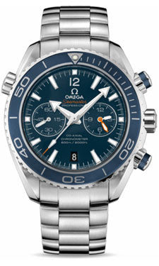 Omega,Omega - Seamaster Planet Ocean 600 M Co-Axial Chronograph 45.5 mm - Titanium - Watch Brands Direct
