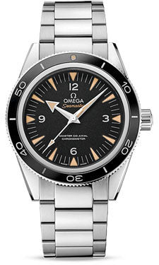 Omega,Omega - Seamaster 300 Omega Master Co-Axial 41 mm - Stainless Steel - Watch Brands Direct