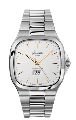 Glashutte - Seventies - Panorama Date - Watch Brands Direct  - 1