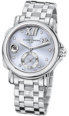 Ulysse Nardin,Ulysse Nardin - Dual Time Lady - Stainless Steel - Bracelet - Watch Brands Direct
