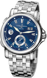 Ulysse Nardin,Ulysse Nardin - Dual Time 42mm - Stainless Steel - Bracelet - Watch Brands Direct