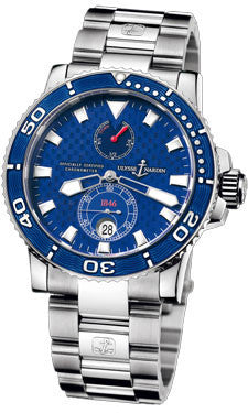 Ulysse Nardin,Ulysse Nardin - Marine Diver 42.7mm - White Gold - Watch Brands Direct